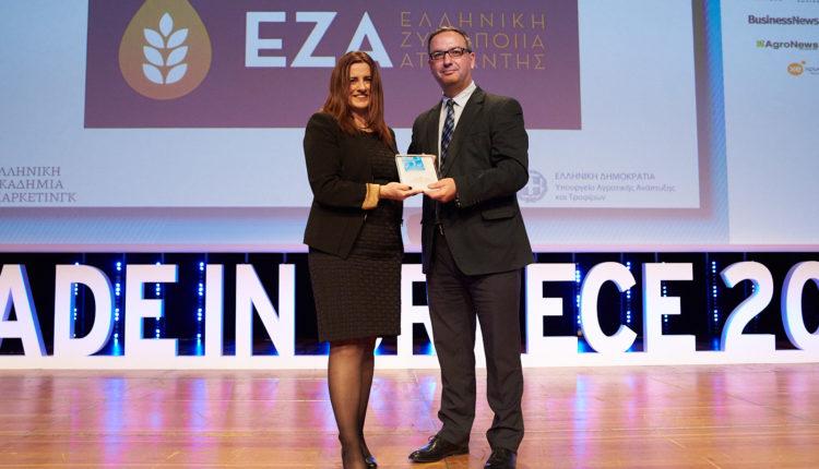 Ένα 'Made in Greece' βραβείο για την ΕΖΑ