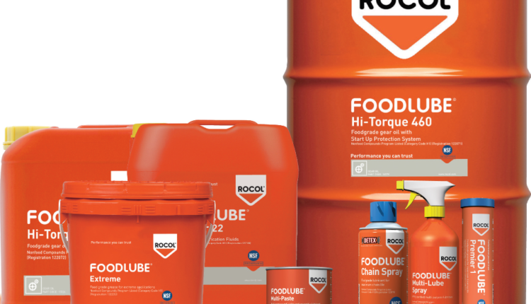 Λιπαντικά Βιομηχανίας Τροφίμων Της Rocol