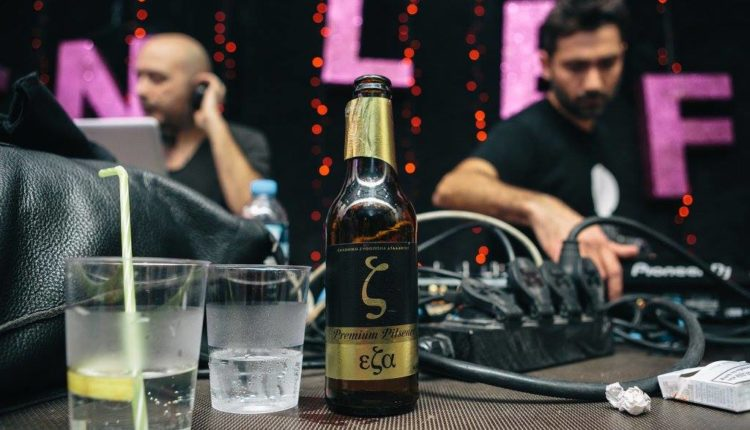 H Eλληνική Zυθοποιία Αταλάντης στο Εn Lefko Xmas Party