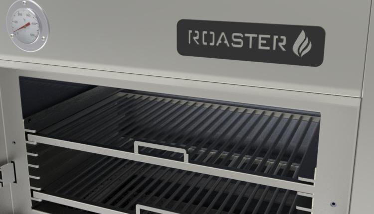 Roaster: ο 1ος ελληνικός φούρνος με κάρβουνα