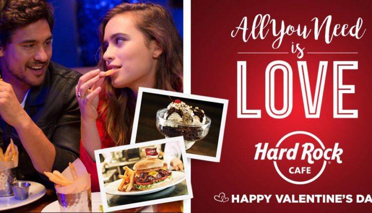 Το Hard Rock Cafe Athens γιορτάζει τον Άγιο Βαλεντίνο