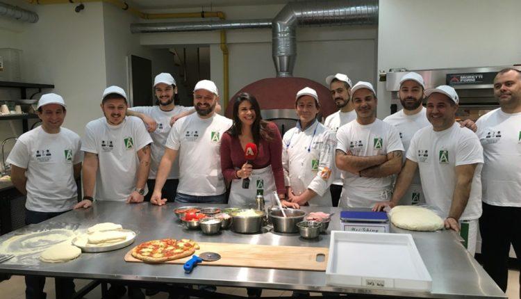 Αccademia Pizzaioli: στο «Σαββατοκύριακο με τον Μάνεση»