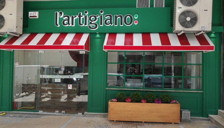 Ιταλικό ταμπεραμέντο στα νέα L' Artigiano σε Ζωγράφου & Κυψέλη