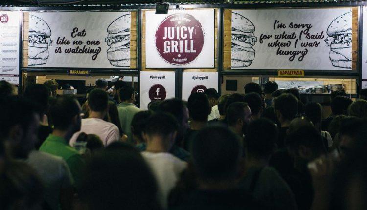 Πρώτο, ξανά, το Juicy Grill, στο Burger Fest