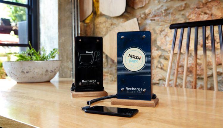 Cafe/Resto Powerbank: ενέργεια και …προβολή σε μια συσκευή