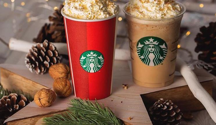 Τα Starbucks με εορταστικές προσφορές