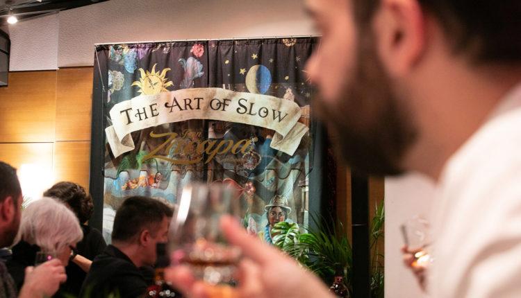 Η φιλοσοφία του Art Of Slow με το ρούμι Zacapa