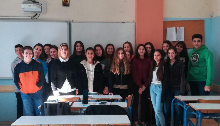 Η L' Αrtigiano δίπλα στους μαθητές
