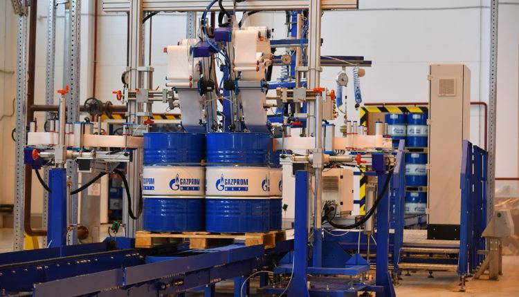 Έλαια Gazpromneft  με άδεια χρήσης στη βιομηχανία τροφίμων