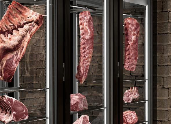 Ψυγεία κρέατος & κάβες κρασιών από την Υδροψυκτική
