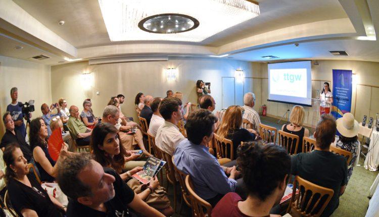 Επίσημη Συνέντευξη για την 1η Διεθνή Έκθεση Θεματικού Τουρισμού (Εναλλακτικού Τουρισμού ) Γαστρονομίας και Οίνου