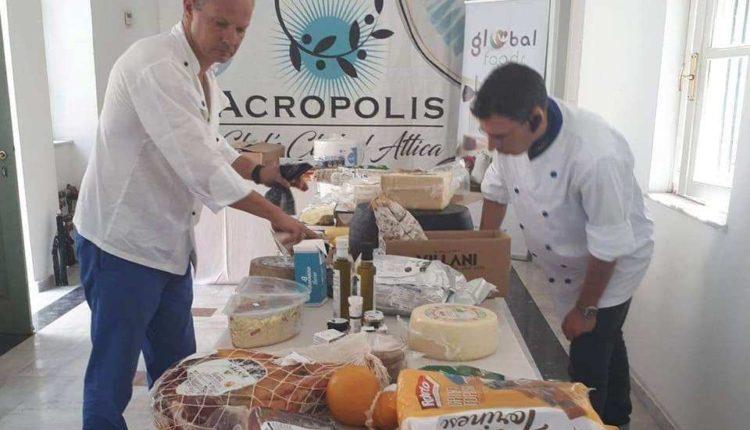 Η Global Foods με προϊόντα της στη Λέσχη Ακρόπολις