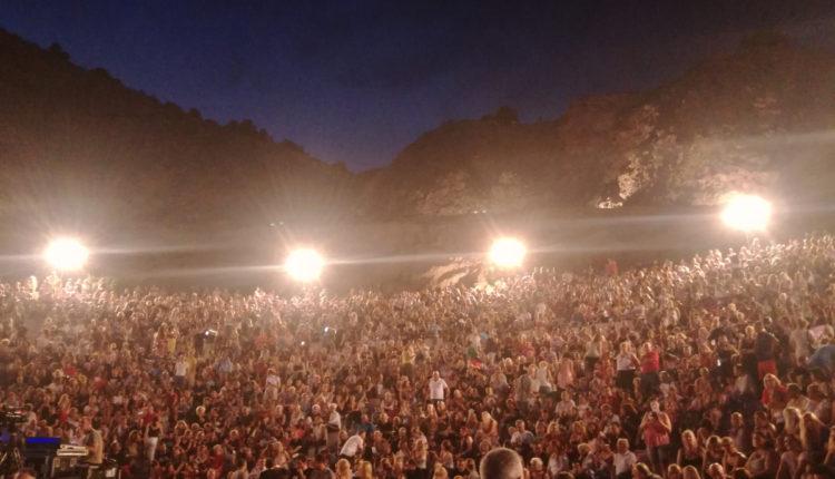 L' Artigiano: Χορηγός  στο Live των Αντώνη Ρέμου & UB40