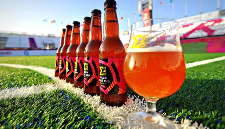 Η επίσημη μπίρα του Socca World Cup από την  Σόλο