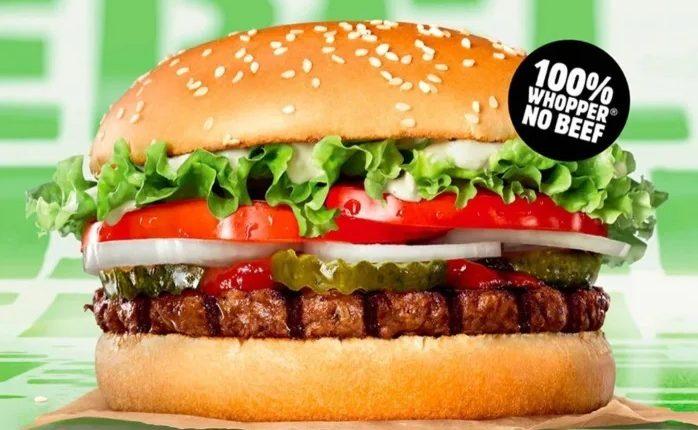 Burger King: Σήμερα στην Αγγλία το νέο μπέργκερ χωρίς κρέας