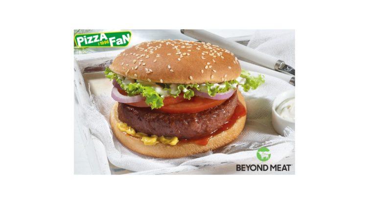 Το Burger της Beyond Meat στην Pizza Fan