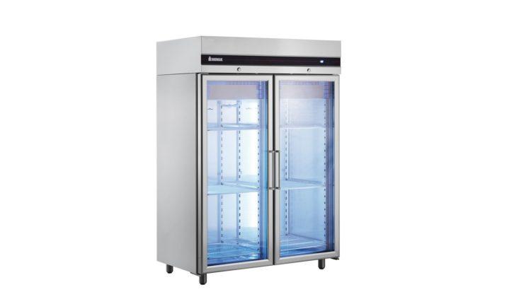 INOMAK:ψυγεία με γυάλινες πόρτες