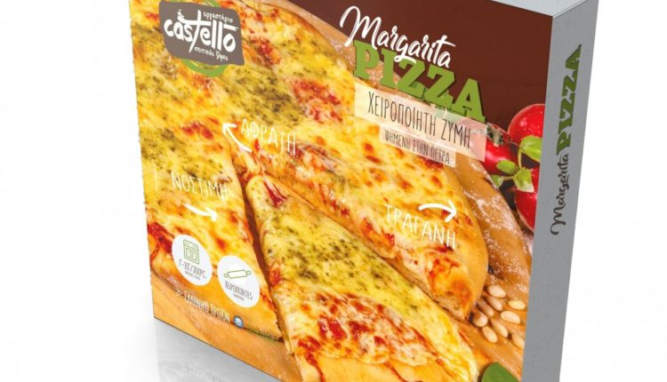 Castello: Νέα σειρά πίτσες στη λιανική