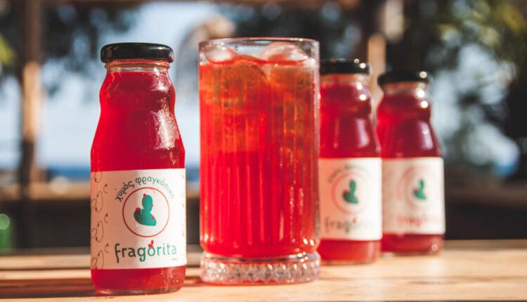 Fragorita: Μεσσηνιακός χυμός φραγκόσυκο σε ατομικό μπουκάλι