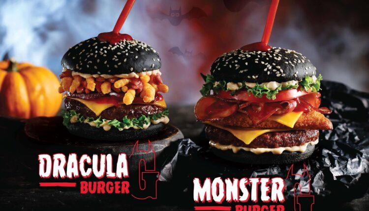 Νέα, εντυπωσιακά Limited Edition Halloween burgers