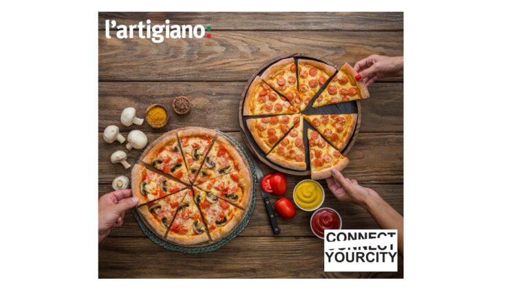 Νέοι, challenges και πίτσες l'artigiano στο Connect Your City