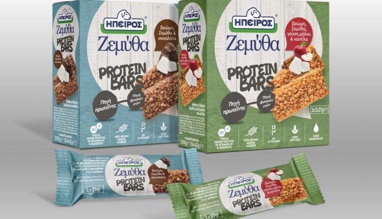 Ήρθαν οι πρώτες μπάρες πρωτεΐνης με Ζεμύθα από την Ήπειρος